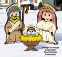 Dress-Up Darlings Nativity Outfits Pattern