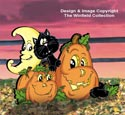 Pumpkin Patch Pals Color Poster