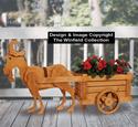Garden Goat and Cart Pattern Set