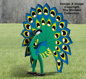 3d animal project patterns 3d peacock pattern