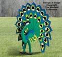 3D Peacock Pattern