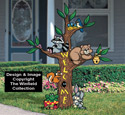 Friendly Forest Totem Pattern
