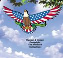 Star Spangled Eagle Color Poster