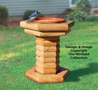 Bird Feeder Woodworking Plans Landscape Timber Bird Feeder Pattern