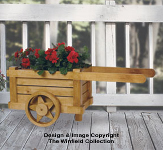 Garden Cart Planter Pattern