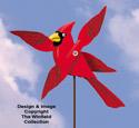 Cardinal Whirligig Pattern