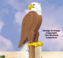 3D Big Eagle Pattern