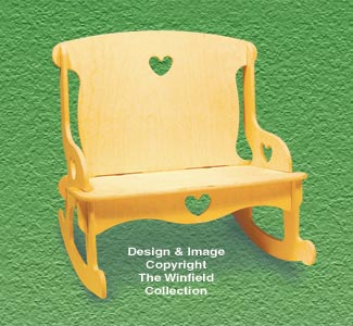 Doll Furniture Love Seat Rocker Pattern