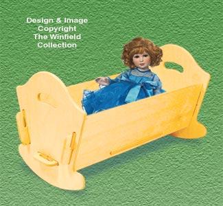 Doll Furniture Cradle Pattern