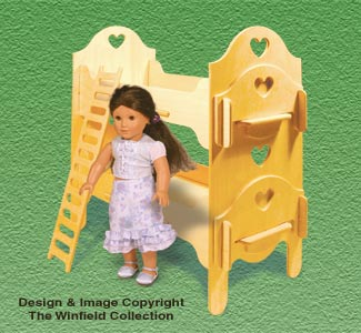Doll Furniture Bunk Beds Pattern