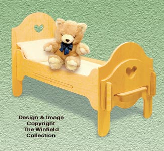 Doll Furniture Bed Pattern