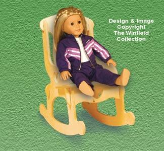 Doll Furniture Rocker Pattern