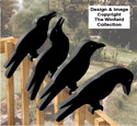 Crow Shadow Rail Sitters Pattern