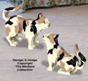 3D Calico Cats Pattern