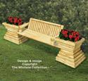 Landscape Timber Garden Bench Plan