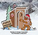 Gingerbread Outhouse Pattern