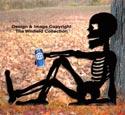 Relaxing Skeleton Woodcraft Pattern