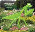 3D Giant Praying Mantis Pattern