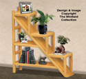 Staircase Shelving Unit Woodworking Plans