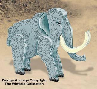 3D Mammoth Pattern