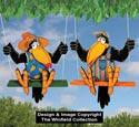 Teenage Crow Swingers Pattern