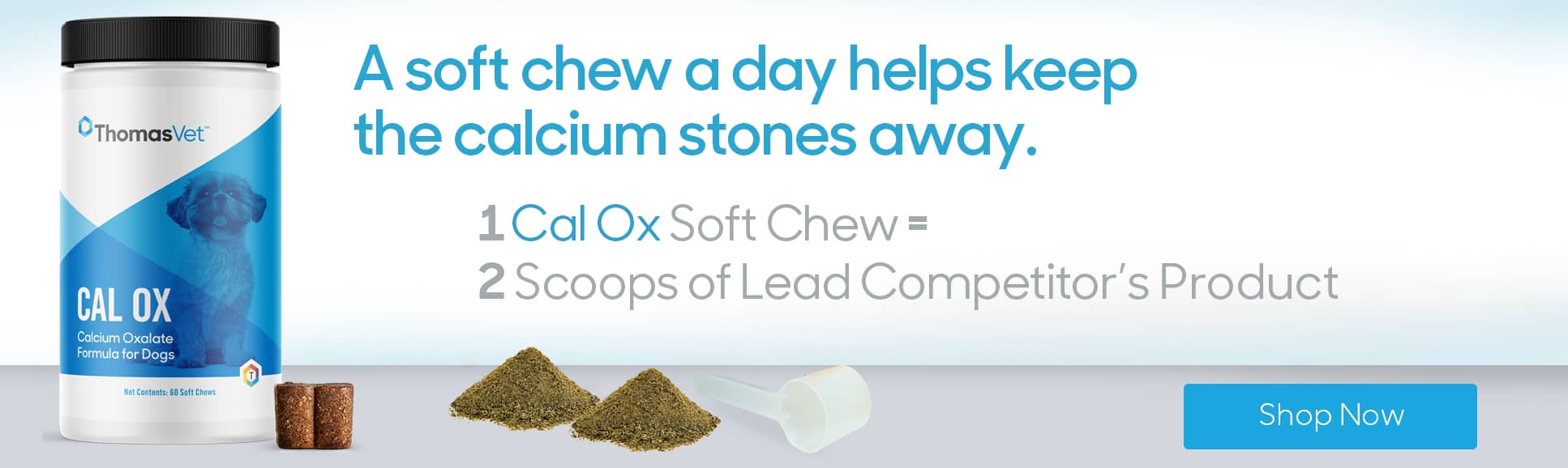 Calcium Oxalate Stone Formula for Dogs