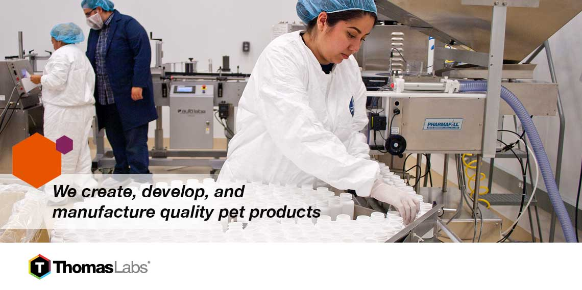 Thomas Labs Quality Pet Supplement Manufacturing
