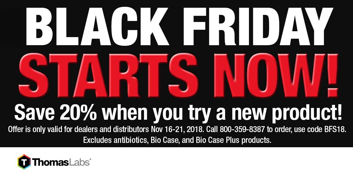 Black Friday Deals from Thomas Labs