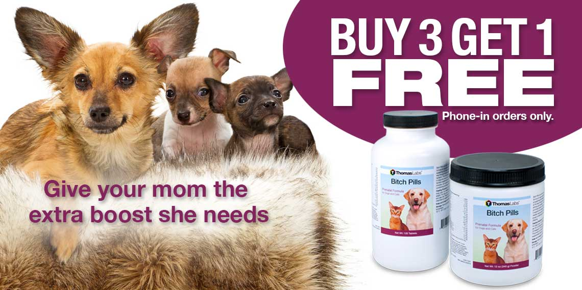 Bitch Pills Dog Breeding Supplement
