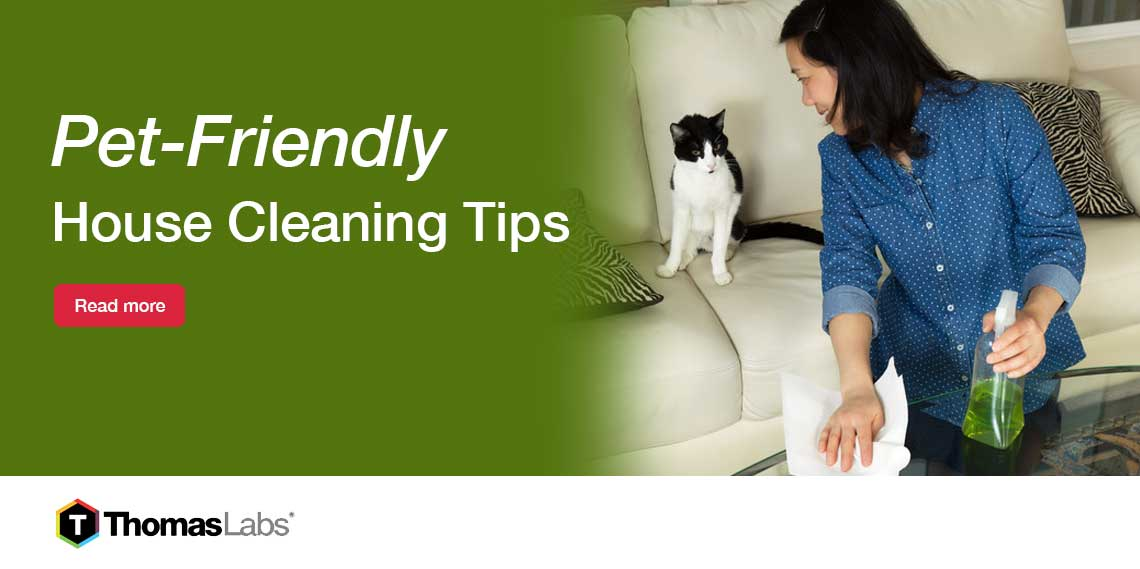 Safety and Use of Household Cleaners Around Pets