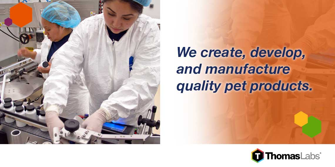Advanced pet health supplements from Thomas Labs