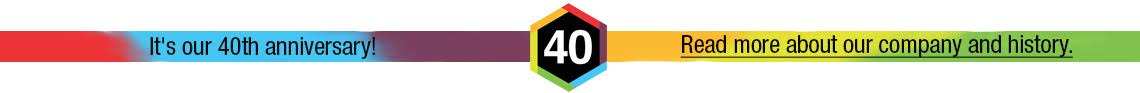 Thomas Labs 40th Anniversary - Learn About Us