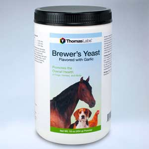 Brewer's Yeast Flavored with Garlic from Thomas Labs