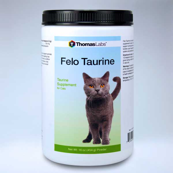 How to Supplement Taurine for Cats