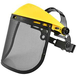 Neiko 2-in-1 Polycarbonate Steel Mesh Face Protection Shield 53876A