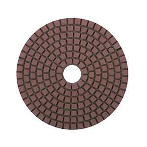 Diamond Polishing Pads 4 inch for Granite Stone Wet Buffing Pad Black