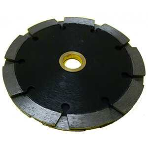 """7 Inch Diamond Tuck Point Blade Two Layer Sandwich .250"""" Tuckpoint"""