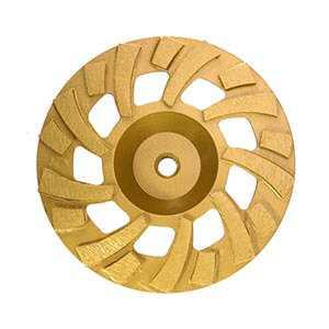 "7 Inch Diamond Cup Wheel Super Turbo Concrete Grinding 5/8""-11 nut"