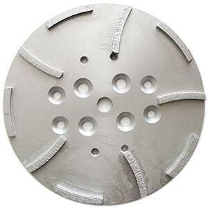 "10"" Diamond Concrete Grinding Grinder Disc Head - 10 segments"