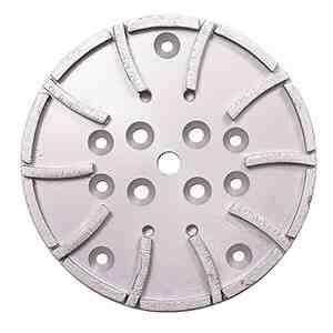 "10"" Diamond Concrete Grinding Grinder Disc Head - 20 segments"