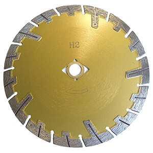 """XP Diamond 14"""" Brick Masonry T Rim Diamond Blade Dry Cutting Saw Blade"""