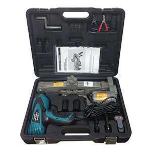 Scissor Jack Impact Wrench Kit 12 Volt Electric 2 Ton Capacity