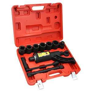 Torque Multiplier Wrench Wheel Lug Nut Remover 1 Inch 8 Socket Set