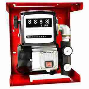 Oil Transfer Diesel Fuel Pump Portable Electric with Meter