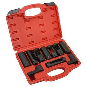 10 Pc. Automotive Socket Oxygen Sensor Installer Remover Kit
