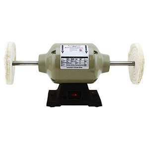 Bench Buffer - 8 In. Bench Top Polisher Buffer Electric Machine 1/2 HP