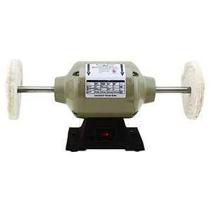 Bench Buffer Polisher Electric Machine 6 inch Wheel 1/3 HP