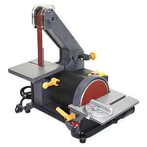 Belt Disc Sander - Electric Belt Sander Sanding Machine 1 x 5 x 30 In.