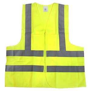 Stark Large 2 Pocket Ansi Yellow Safety Vest 57820