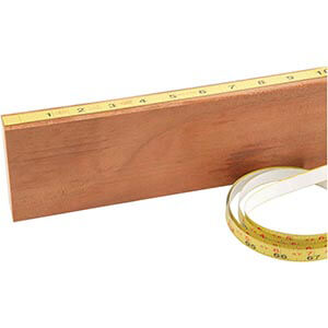 Measuring Tape 6 ft. Right Reading Self-Adhesive Shop Fox D4787